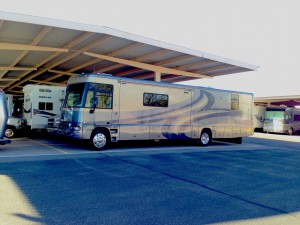 Store your RVs at our secured facilities.